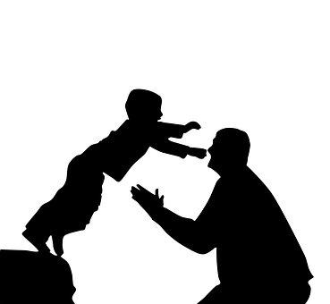 父と息子, 自信を持って, 幸福, 愛, 生活, 喜び, シングル, 連合