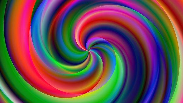 Candy, Sweet, Chakras, Spirale, Coloré