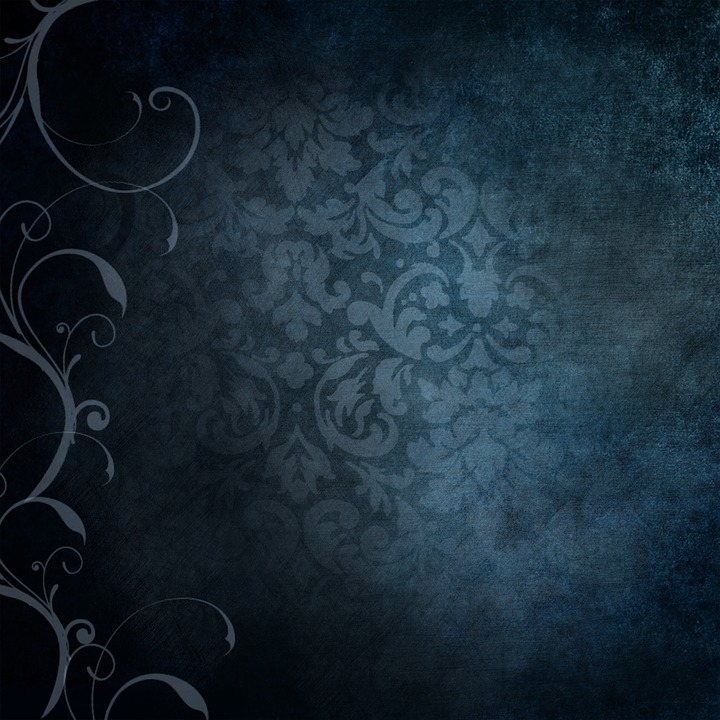 free illustration background blue victorian free