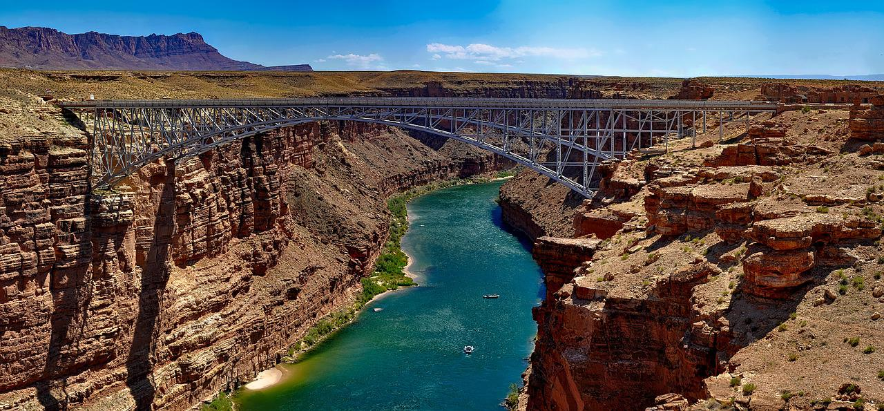 the colorado river The 1,440-mile-long colorado river passes through parts of seven states, several indian reservations and the republic of mexico california is entitled to 44 million acre-feet of water annually from river.