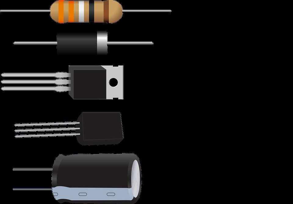 diode resistor capacitor  u00b7 free vector graphic on pixabay