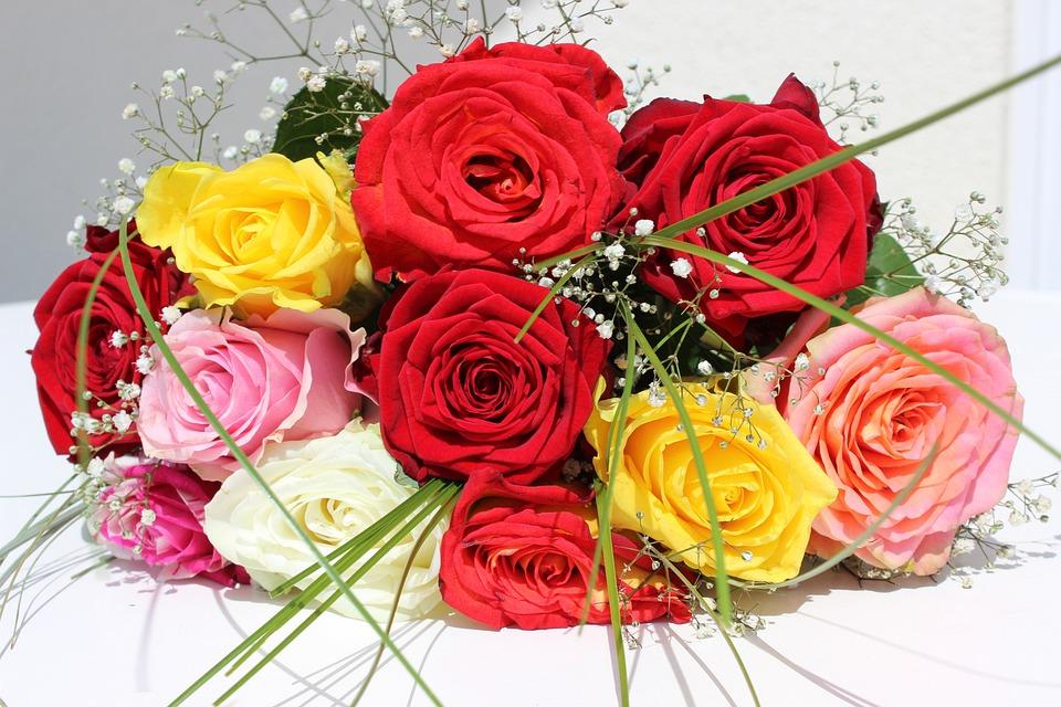 Conosciuto Foto gratis: Rose, Fiori, Mazzo, Bouquet Di Rose - Immagine gratis  VB75