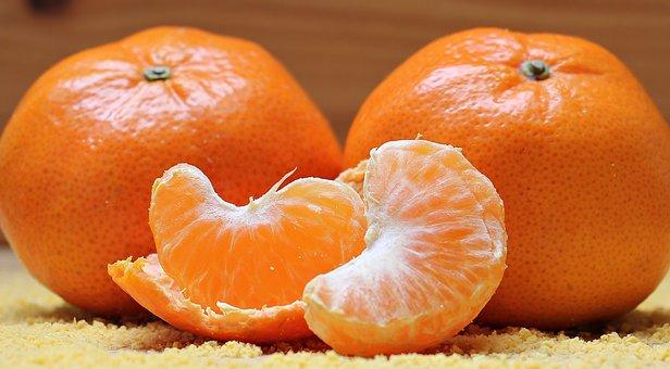Tangerines, Citrus, Fruit, Clementines