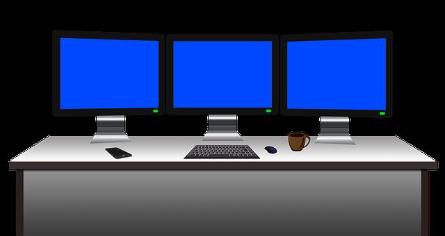 computer arbeitsplatz schreibtisch kostenloses bild auf pixabay. Black Bedroom Furniture Sets. Home Design Ideas