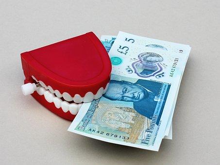 お金, グラブ, 歯, 通貨, ファイナンス, 富, 現金, 経済, 利益