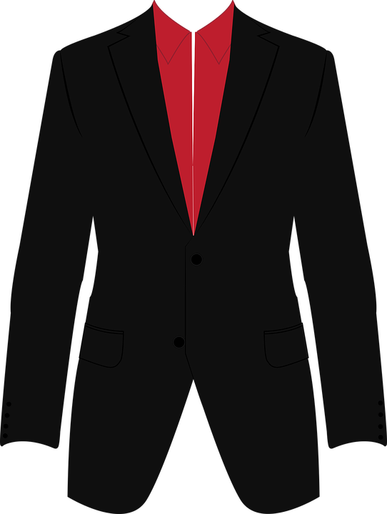 Suit Business Icon , Free vector graphic on Pixabay
