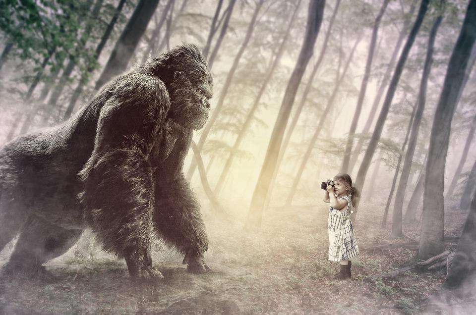 香港, ゲリラ, 小さな女の子, 少し, ジャングル, エラワン, 滝, カスケード, 自然, 国立公園, 川