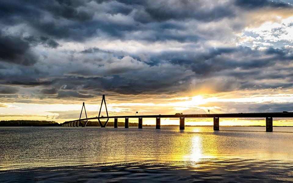 Brücke, Meer, Dänemark
