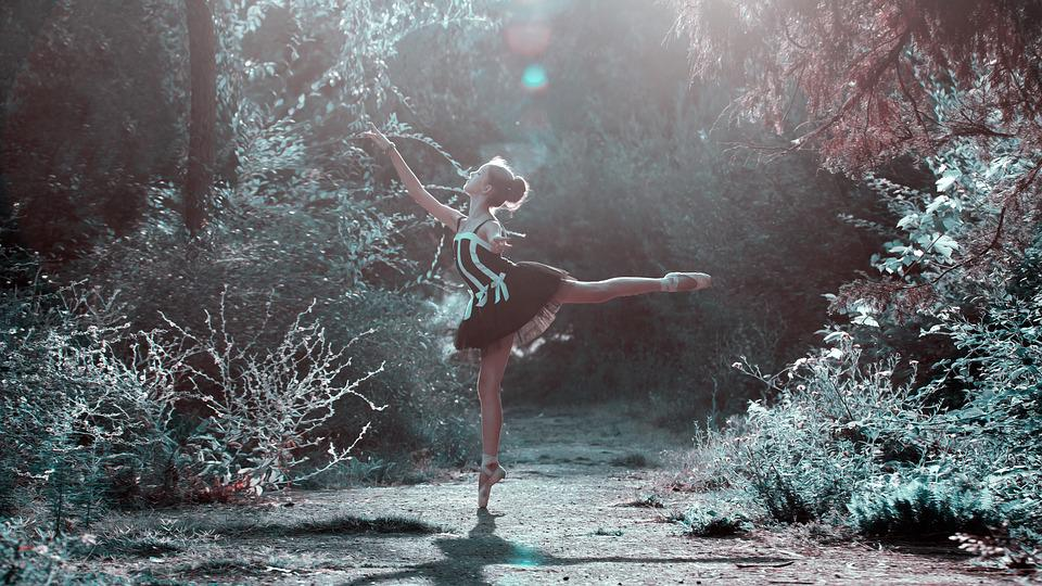 Ballet Pose, Girl, Legs, Dancing, Beautiful, Woman