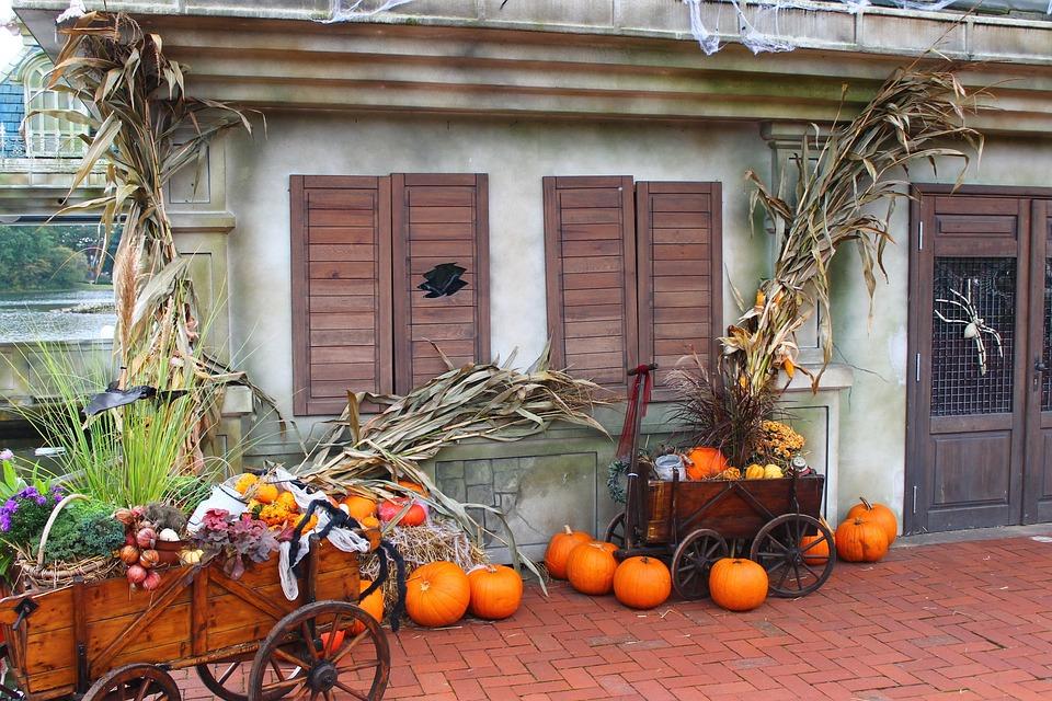 Halloween Dekorasi Labu Foto Gratis Di Pixabay