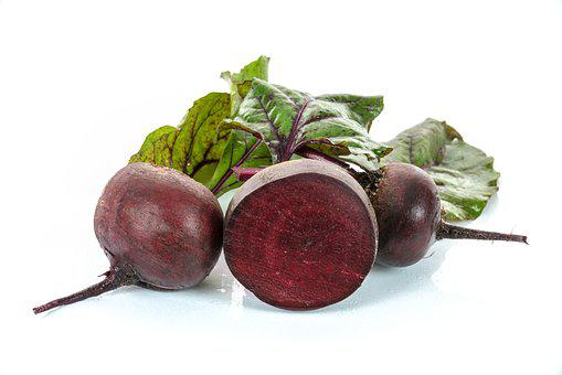 Red Beets, Vegetables, Foliage