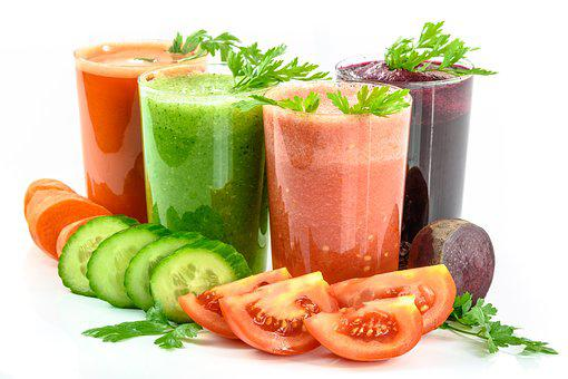 Vegetable Juices Vegetables Secluded White