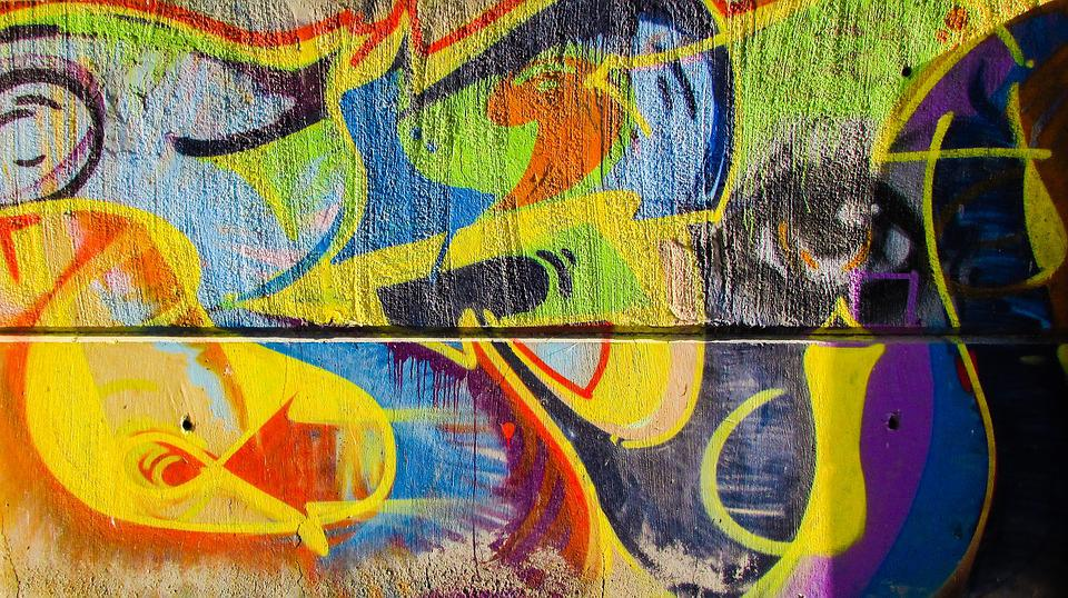 Graffiti Colorful Wall · Free photo on Pixabay