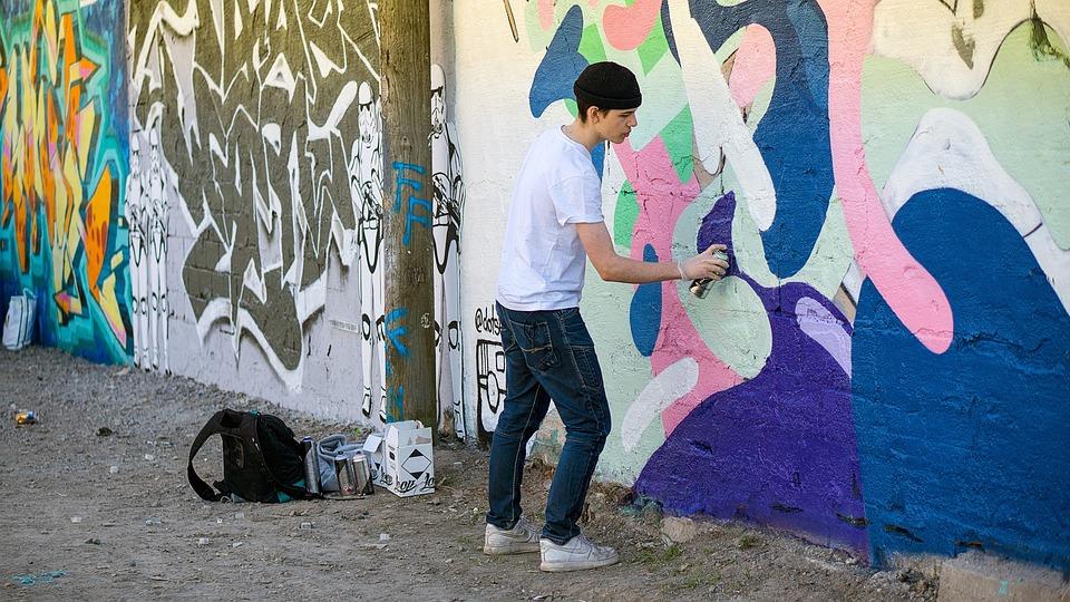 graffiti painter hipster free photo on pixabay