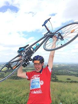 Cyclist, Race, Sport, Winner