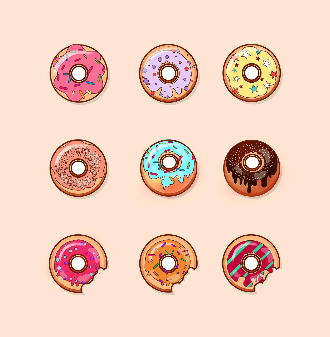 Donut Sweets Baking Free Image On Pixabay