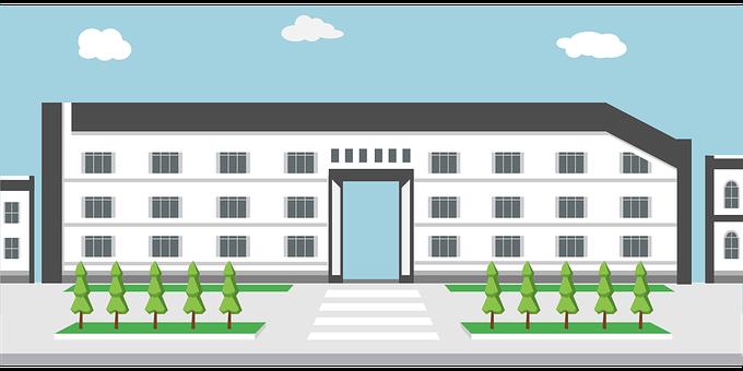 デザイン学校, 建物, アーキテクチャ, 校舎, 近代的な, 学術, デザイン