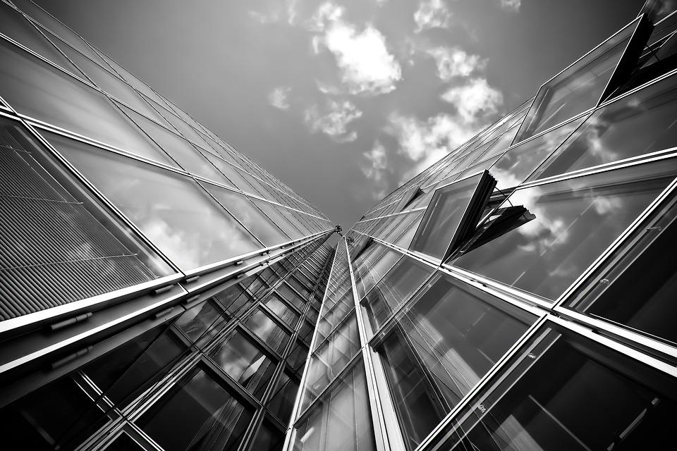 Modern Architecture Photography Black And White free photo: architecture, skyscraper - free image on pixabay - 1727807