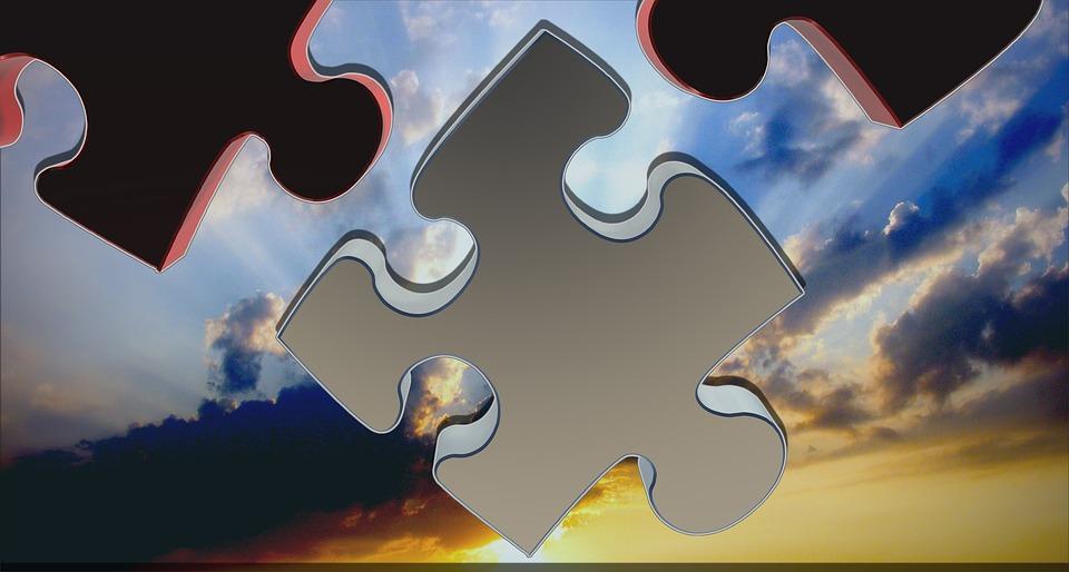 Puzzle, Rompecabezas, Compartir, 3D, Tarea, Solución