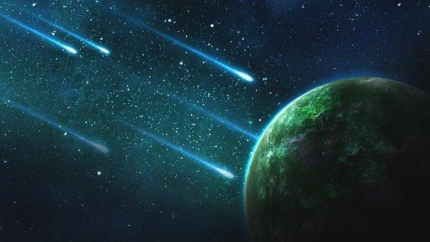 Weltall, Galaxie, Planet, Universum