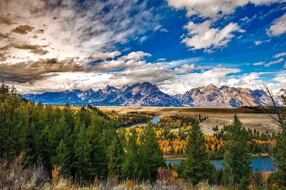 Grand Teton National Park - Free photo on Pixabay