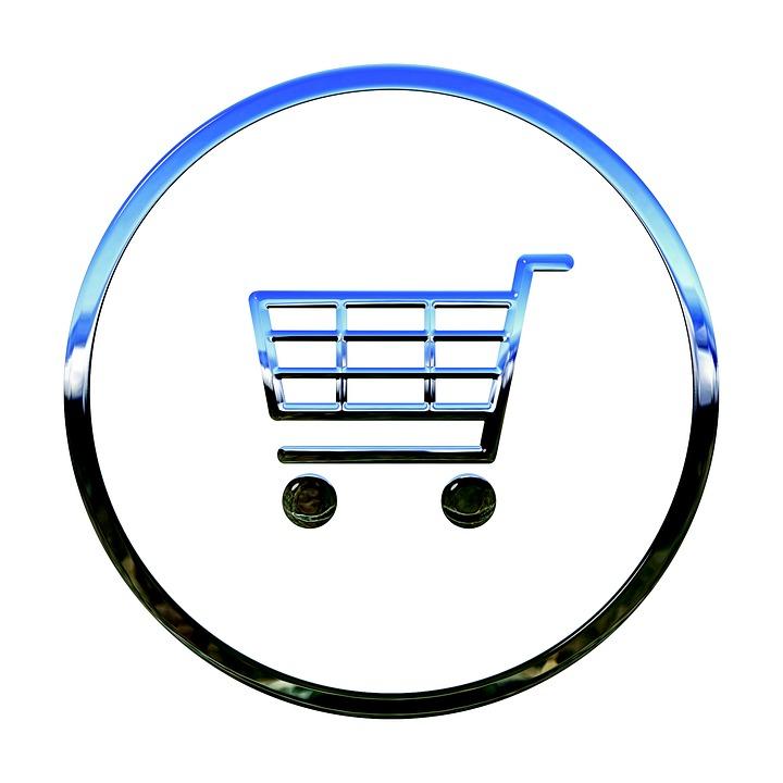 Ikona, Koszyk Na Zakupy, E Commerce, Koszyka, Symbolu