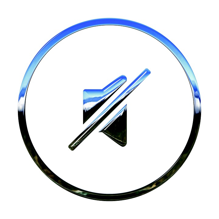 Icon, Stumm, Ton, Medien, Lautsprecher, Ruhig