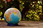 globe, puzzle