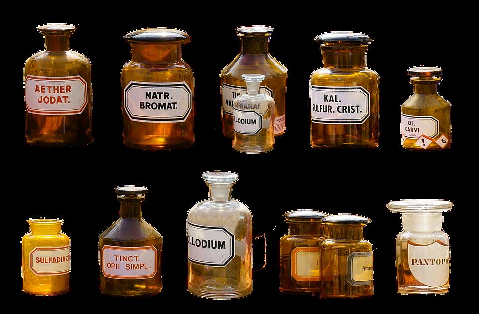 Farmacia, Isolato, Salute, Medico, Bottiglia, Droga