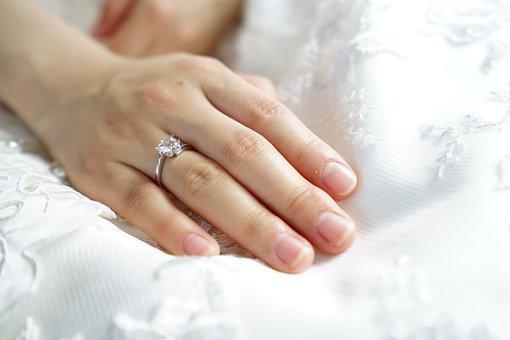 Ring Bride Hand Wedding Marriage Law Finge