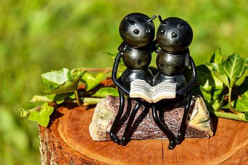 Mrówki, Owad, Artwork, Żelaza, Siedząc