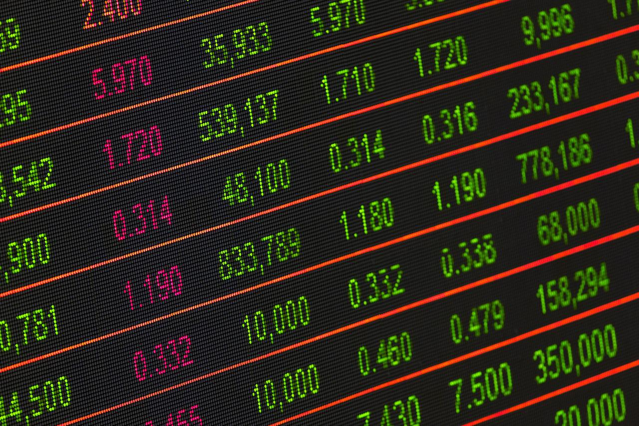 Digital stock prices