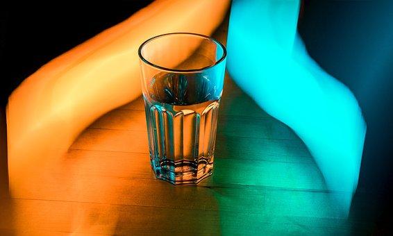 Glass, Water, Drink, Fresh, Liquid