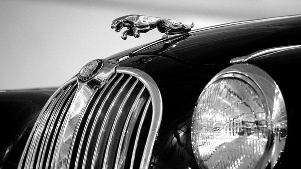 Car, Jaguar, Classic, Auto, Vehicle