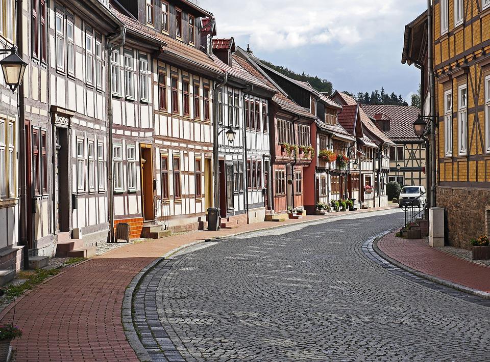 Wiązar, Historycznie, Stolberg, Żywica, Tranzyt Lokalny