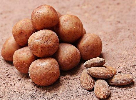 Marzipankartoffeln, Marzipan, Süßware