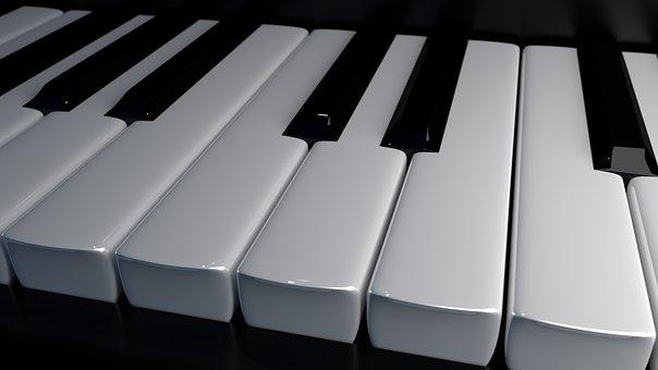 Klaviertasten, Tasten, Klavier, Piano