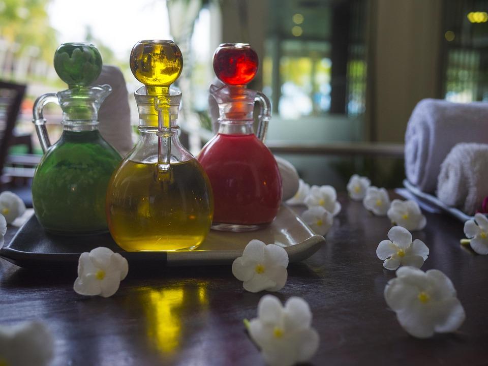 Olio Essenziale, Spa, Trattamento, Aromaterapia