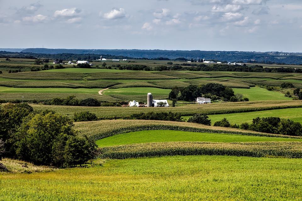 Free Photo Iowa Farms Country Rural Image On