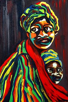 Culture Traditional African Art Paintings