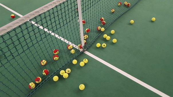 Tennis, Network, Sport, Balls,Tennis Court Equipment