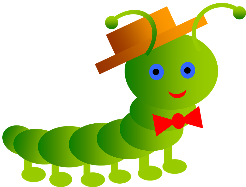 Inchworm Smile Worm 183 Free Image On Pixabay