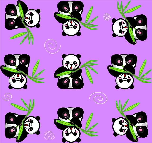 76+ Foto Gambar Panda Ungu Inspiratif