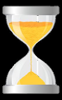 Sanduhr, Timer, Gold, Abbildung, Zeit
