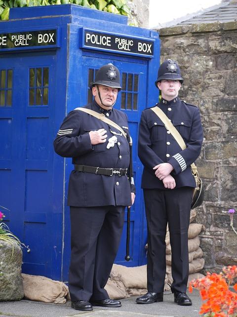 free photo police tardis telephone box law free