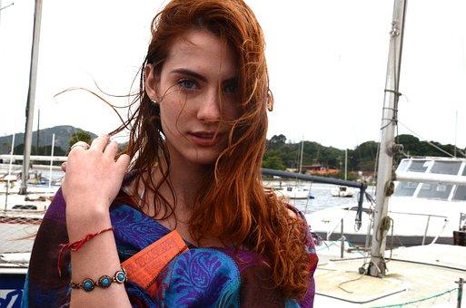 Woman, Model, Redhead, Beautiful, Beauty