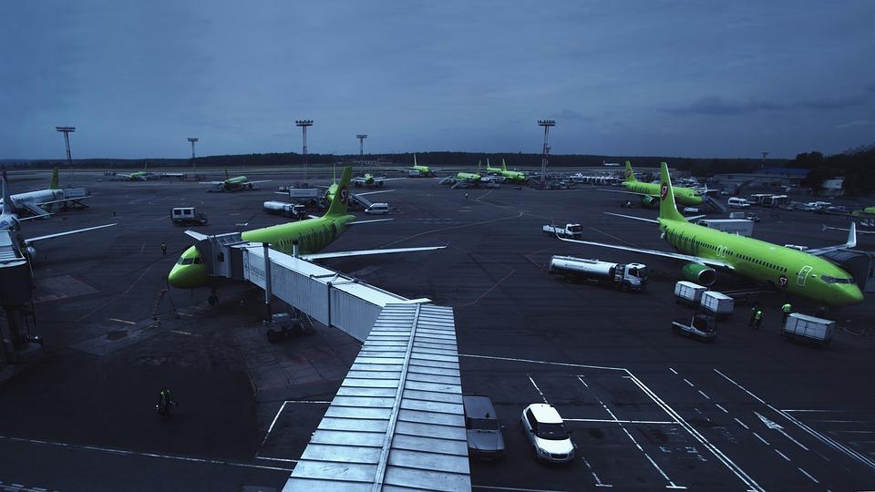 Lotnisko, Domodiedowo, Linia Lotnicza, S7, Moskwa