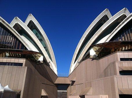 Sydney Oprah House Austrailia Travel Sky A