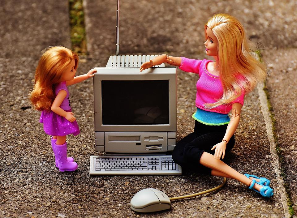 Sociale Media, Moeder, Verlichting, Internet