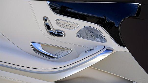 Mercedes Car Interior Design Luxury Vehicl